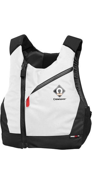 2018 Crewsaver Junior Pro 50N Chest Zip Buoyancy Aid White 2631J