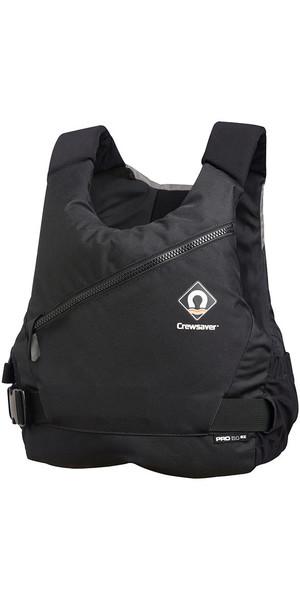 2018 Crewsaver Junior Pro 50N Side Zip Buoyancy Aid Black / Grey 2621J
