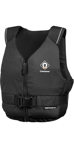 2018 Crewsaver Junior Response 50N Buoyancy Aid Black 2601J