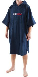 2018 Dryrobe Short Sleeve Towel Change Robe / Poncho - LARGE in Navy