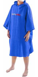 2018 Dryrobe Short Sleeve Towel Change Robe / Poncho - Medium in Royal Blue