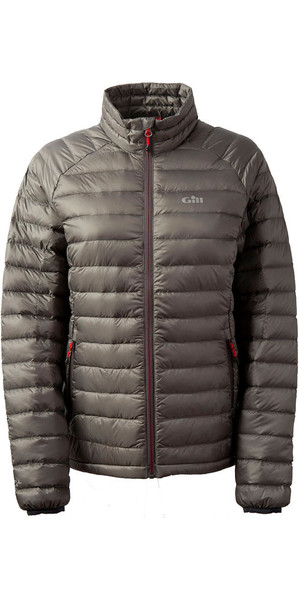 2019 Gill Womens Hydrophobe Down Jacket Pewter 1062W