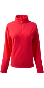 Gill Womens Thermogrid Zip Neck Fleece Coral 1370W