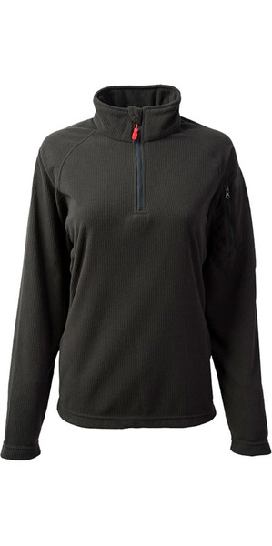 2018 Gill Womens Thermogrid Zip Neck Fleece Graphite 1370W