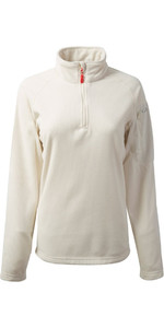 Gill Womens Thermogrid Zip Neck Fleece Oatmeal 1370W