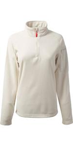 Gill Womens Thermogrid Zip Neck Fleece Oatmeal 1370W