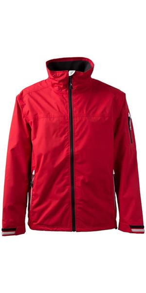2018 Gill Men's Crew Jacket in Red 1041