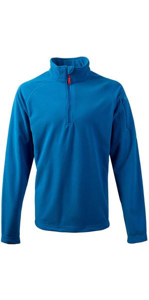 2018 Gill Thermogrid Zip Neck Fleece Blue 1370