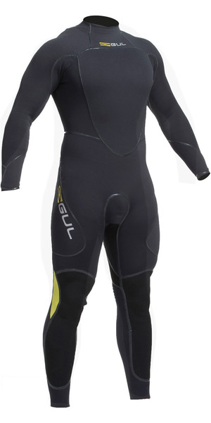 2019 Gul Code Zero 4/3mm Back Zip Relief System Sailing Wetsuit  JET CZ1201-B2