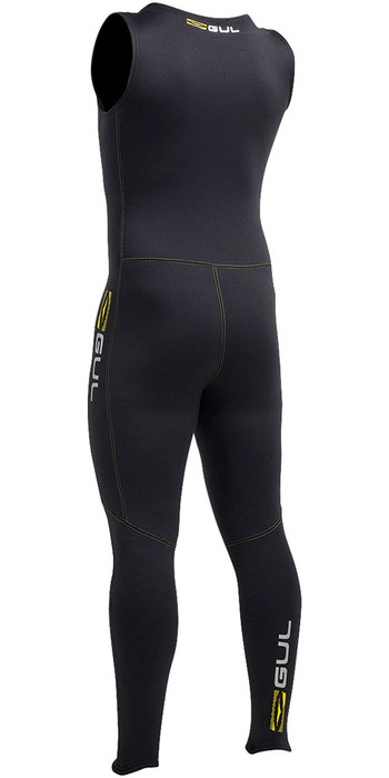 Gul Evotherm Flatlock Thermal Long John in Black AC0054-A9