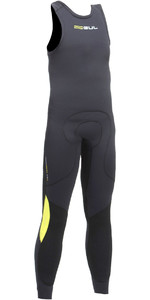 2020 Gul Junior Code Zero 3mm Long John Wetsuit BLACK / BLACK CZ4214-B2
