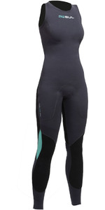 2019 Gul Womens Code Zero 3mm Long John Wetsuit JET CZ4208-B2