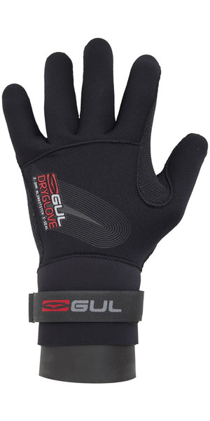 2019 Gul Junior 2.5mm Dry Glove Black GL1233-A6