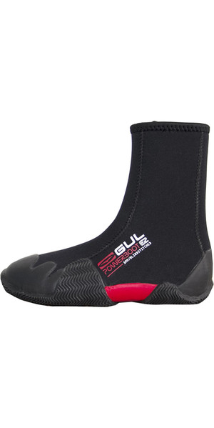 2019 Gul Junior Round Toe 5mm Zipped Power Boot Black BO1307-B2