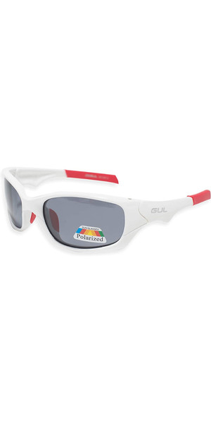 2019 Gul Saco Floating Sunglasses White / Red SG0008-B2