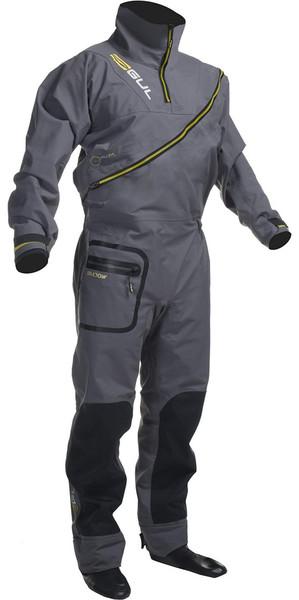 Gul Shadow Mens Halo Zip Drysuit Charcoal GM0349-A8