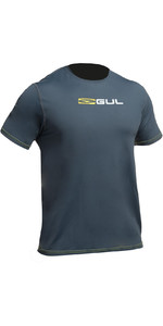 2019 Gul Tee Fit Short Sleeve Rash Vest ASH RG0366-B2