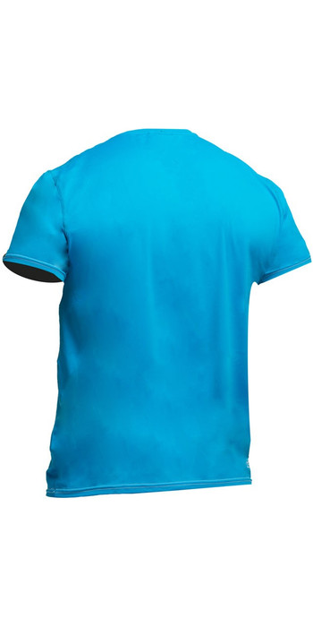 2019 Gul Tee Fit Short Sleeve Rash Vest CRIP BLUE RG0366-B2