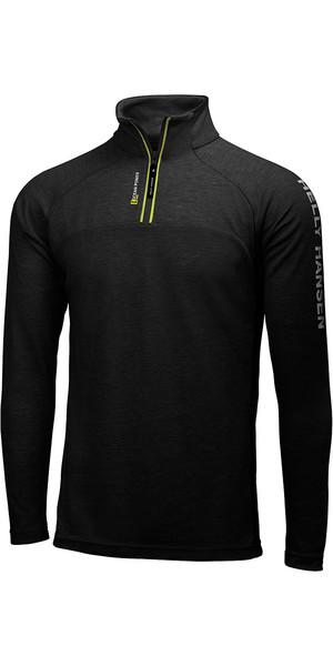 2018 Helly Hansen 1/2 Zip Technical Pullover in Black 54213