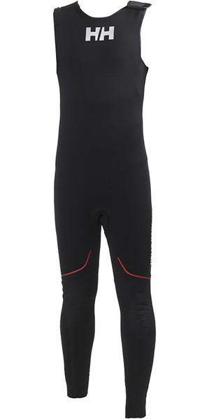 2018 Helly Hansen 3mm Neoprene Salopettes Black 31704