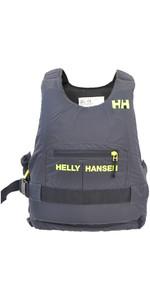 2019 Helly Hansen 50N Rider Race Plus + Buoyancy Aid Ebony / Lime 33823