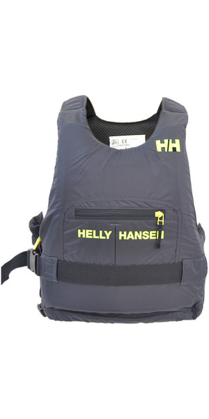 2019 Helly Hansen 50N Rider Race Plus + Buoyancy Aid Ebony / Lime 33823