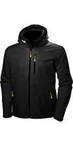 2019 Helly Hansen Crew Hooded Jacket Black 33875