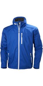 2019 Helly Hansen Crew Hooded Jacket Olympian Blue 33875