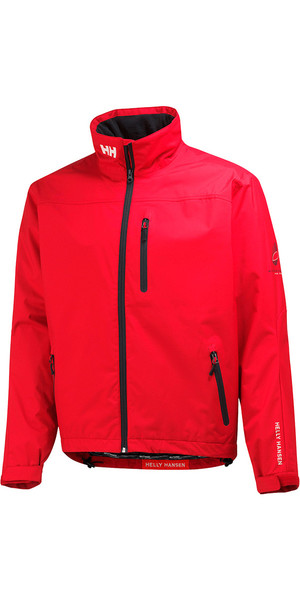 2018 Helly Hansen Crew Midlayer Jacket Red 30253