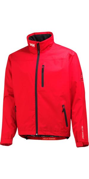 2019 Helly Hansen Crew Midlayer Jacket Red 30253
