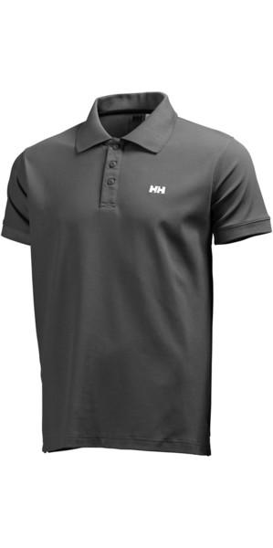 2018 Helly Hansen Driftline Polo Shirt Ebony 50584