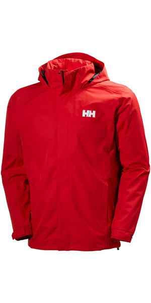 2018 Helly Hansen Dubliner Jacket Flag Red 62643