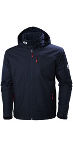 2020 Helly Hansen Hooded Crew Mid Layer Jacket Navy 33874