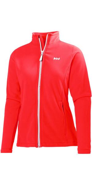 Helly Hansen Ladies Daybreaker Fleece Jacket Neon Coral 51599