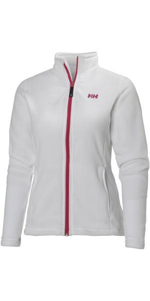 Helly Hansen Womens Daybreaker Fleece Jacket White / Pink 51599
