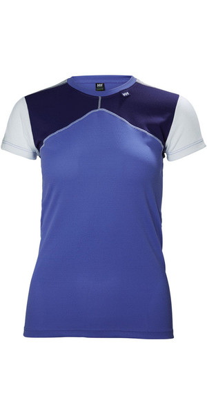 2018 Helly Hansen Womens HH Lifa Base Layer T-Shirt Lilac 48330