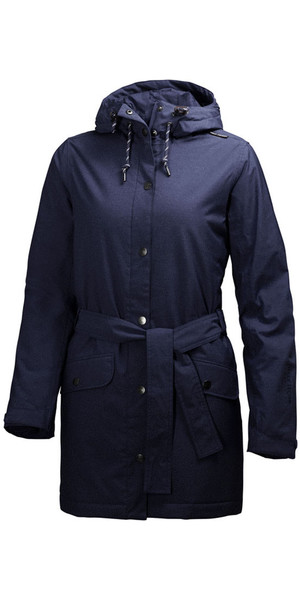 Helly Hansen Ladies Lyness Insulated Coat Evening Blue 62462