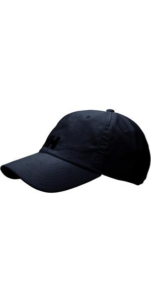 2018 Helly Hansen Logo Cap Black 38791