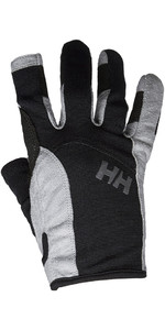 2020 Helly Hansen Long Finger Sailing Glove Black 67771