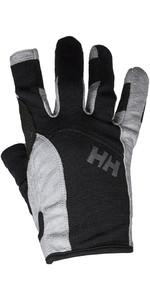 2020 Helly Hansen Long Finger Sailing Glove Black 67771