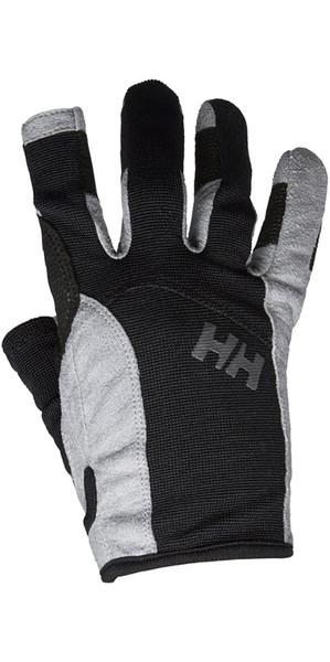 2018 Helly Hansen Long Finger Sailing Glove Black 67771