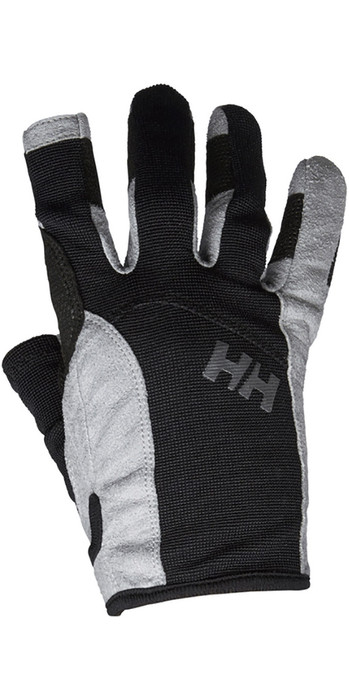 2021 Helly Hansen Long Finger Sailing Glove Black 67771