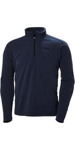 Helly Hansen Mens Daybreaker 1/2 Zip Fleece Evening Blue / Black 50844