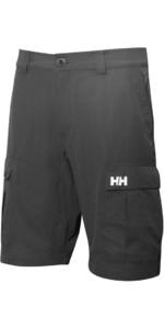 2021 Helly Hansen QD Cargo Shorts Ebony 54154