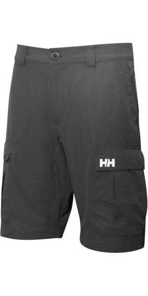 2018 Helly Hansen QD Cargo Shorts Ebony 54154