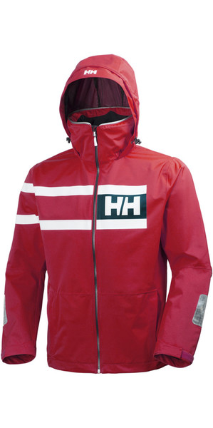 2018 Helly Hansen Salt Power Jacket Red 36278