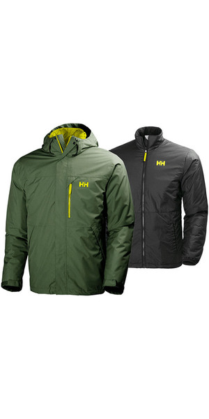 2018 Helly Hansen Squamish CIS 3-in-1 Jacket Ivy Green 62368