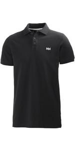 2018 Helly Hansen Transat Polo Shirt Ebony 50583