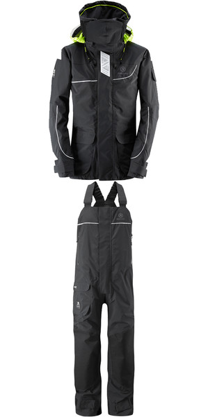2018 Henri Lloyd Elite Offshore 2.0 Jacket Y00376 & Hi Fit Trousers Y10174 COMBI SET BLACK