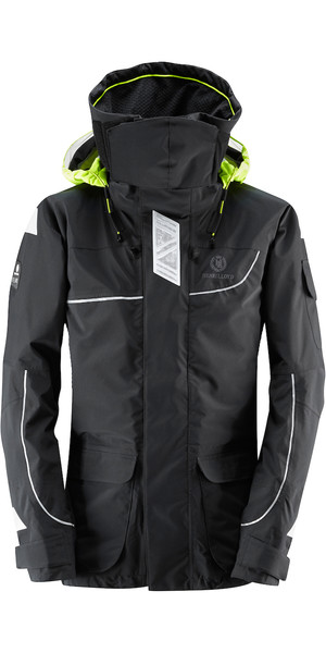 2018 Henri Lloyd Womens Elite Offshore 2.0 Jacket BLACK Y00377